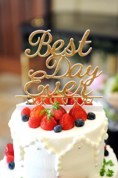 新潟県三条市 燕市 見附市 長岡市 結婚式場 ウェディングケーキ ウェディングアイテム ケーキトッパー 演出