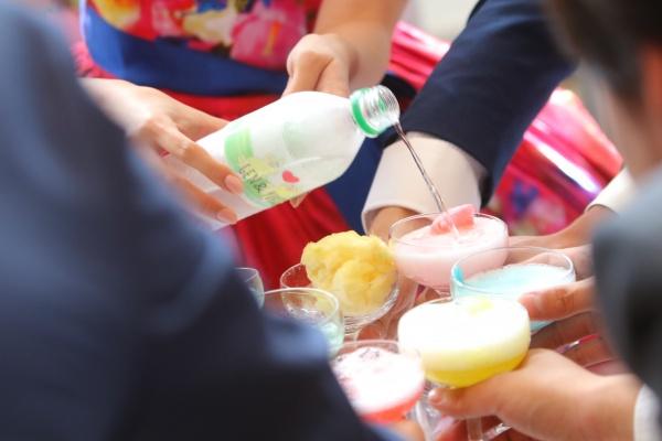 新潟県燕三条市 結婚式場 グラツィエ 演出 テーブルラウンド