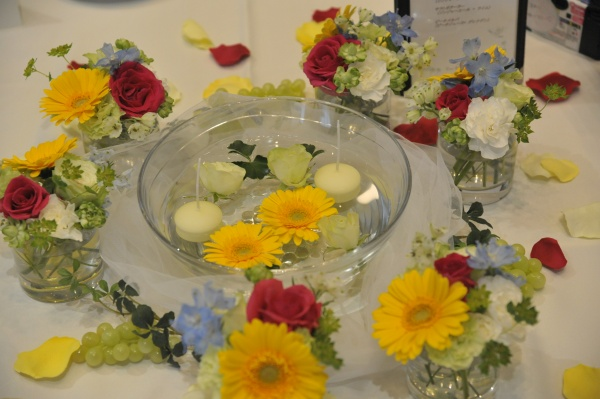 新潟県燕三条市結婚式場 装花