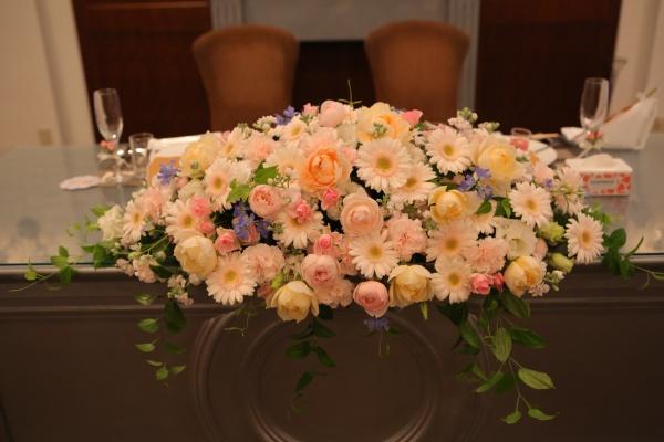 新潟県燕三条結婚式場 お花