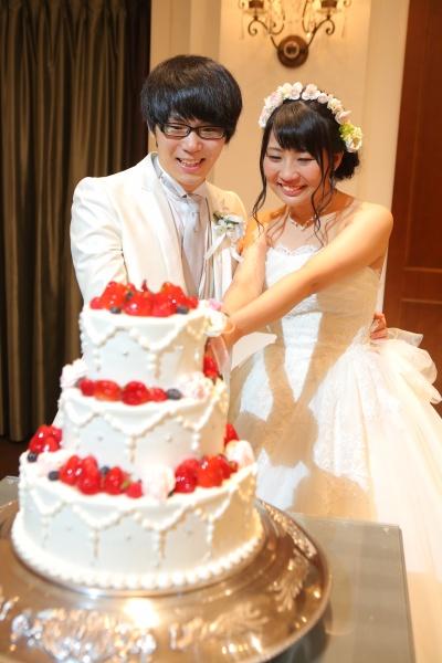 新潟県燕三条結婚式場 ウエディングケーキ