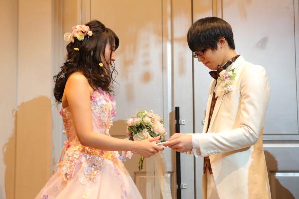 新潟県燕三条結婚式場 演出