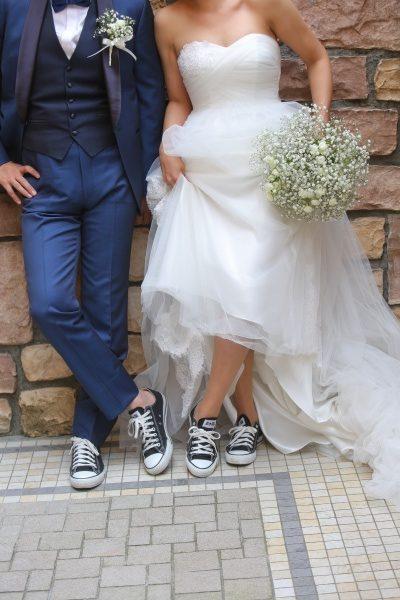 新潟県燕三条市 結婚式場 グラツィエ フォト ウェディングドレス ウェディング 感謝 想い スニーカー