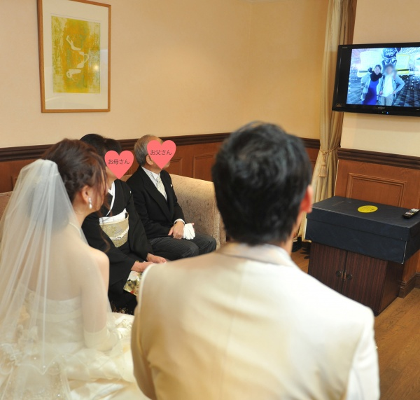 新潟県燕三条市 結婚式場 感謝 手紙 披露宴 結び