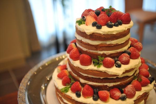 新潟県燕・三条市の結婚式場 ウェディング ケーキ