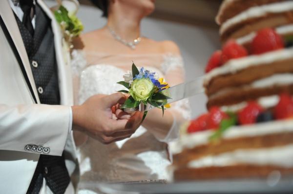 新潟県燕三条市 長岡市 結婚式 ウェディングケーキ 演出 ケーキカット パーティー