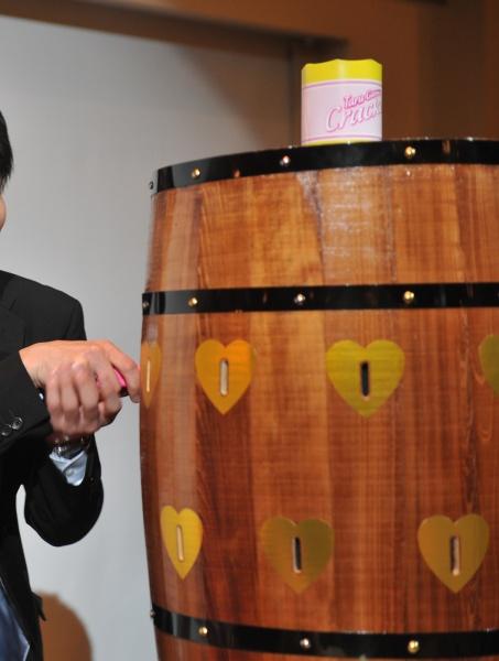 新潟県燕・三条市の結婚式場 樽ゲーム ゲーム 黒ひげ ドキドキ