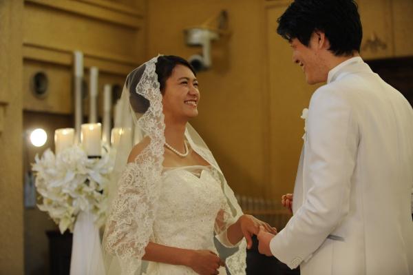 新潟市燕三条市 結婚式場 チャペル キャンドルチャペル プロポーズ クリスマス 誓い
