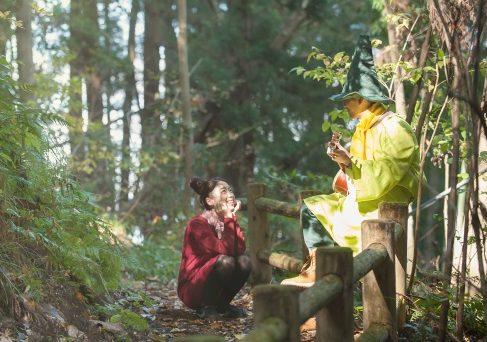 新潟県燕三条市 ピアザデッレグラツィエ 結婚式場 前撮影 森