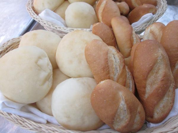 新潟県の結婚式場 パン 白パン 米粉パン