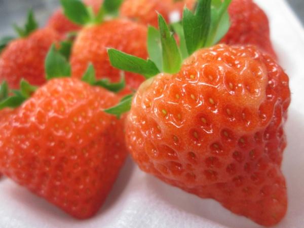 甘さと香りはビックサイズ級!【越後姫デラックス】☆今だけの旬の美味しさ!