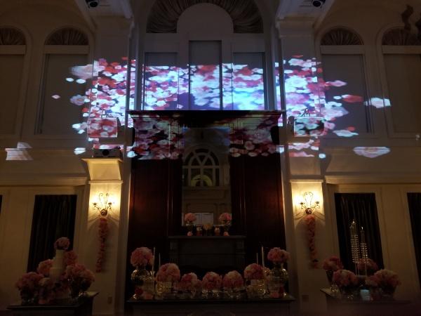 新潟県三条市 結婚式場 ピアザデッレグラツィエ 演出 デジタルスポット