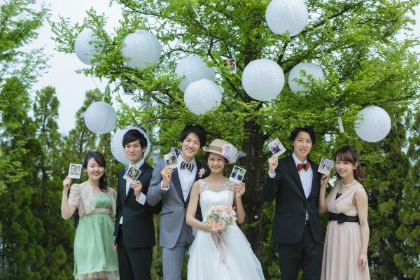 新潟市 三条市 燕市 長岡市 結婚式場 ウェルカムパーティー ガーデン 屋外スペース お庭 演出