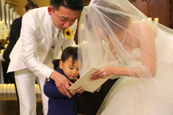 新潟市 三条市 燕市 長岡市 結婚式場 花嫁 証明書 こども