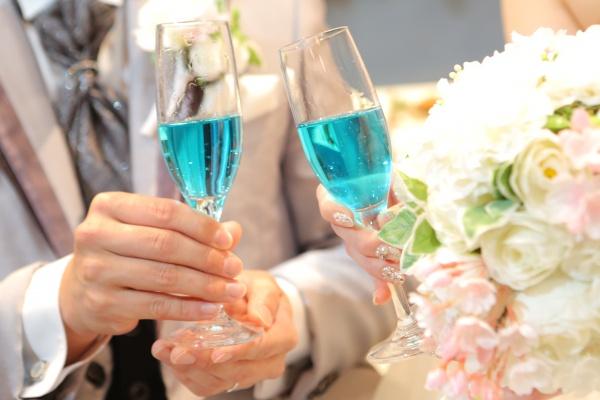 新潟県三条市 結婚式場 ピアザデッレグラツィエ 乾杯