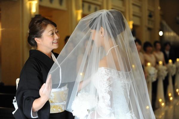新潟県燕・三条市 結婚式場 チャペル ベールダウン