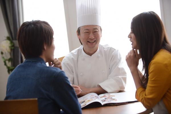 新潟県三条市 燕市 長岡市 結婚式場 ブライダルフェア 試食付き 婚礼料理 フェア料理 野菜 シェフ