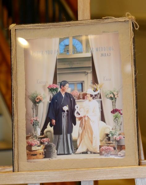 新潟県三条市 長岡市 燕市 結婚式場 前撮り 写真 着物 打掛 ドレス ウェルカムボード