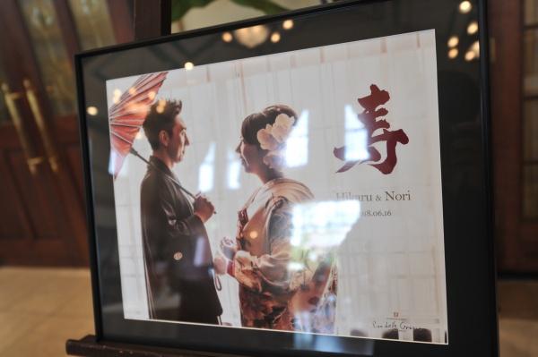 新潟県三条市 長岡市 燕市 結婚式場 前撮り 写真 着物 打掛 ウェルカムボード
