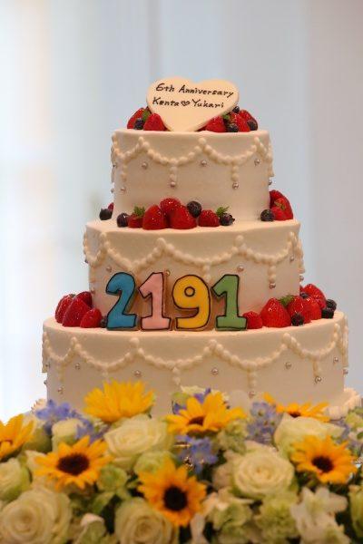 【結婚式で絶対アイテム★ウエディングケーキ編】こんな素敵な意味があるのです♪