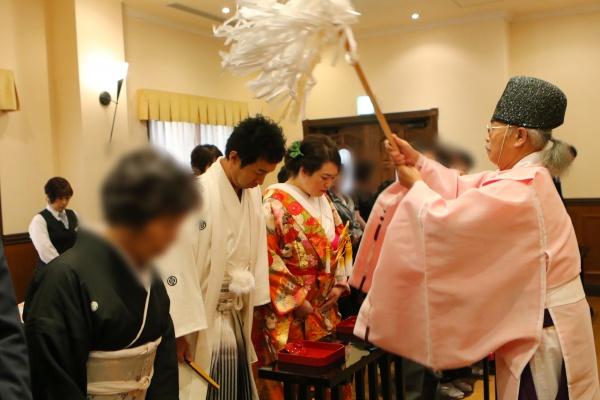 新潟県三条市 燕市 長岡市 結婚式場 和婚 神前式 打掛