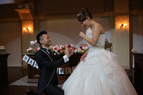 新潟県 三条市 結婚式場 ピアザデッレグラツィエ サプライズ