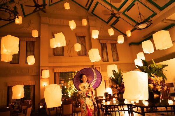 【続・和装アイテム★結婚式での空間デザイン】ロケーション活用での光と影の魅力をご紹介します♪