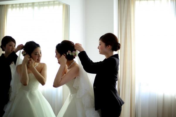 新潟県三条市 燕市 長岡市 結婚式場 ウェディングドレス アドバイザー 美容師 少人数婚 家族婚