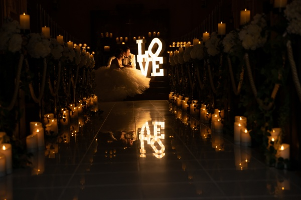 新潟県三条市 長岡市 燕市 結婚式場 マーキーライト ウェディングドレス 月