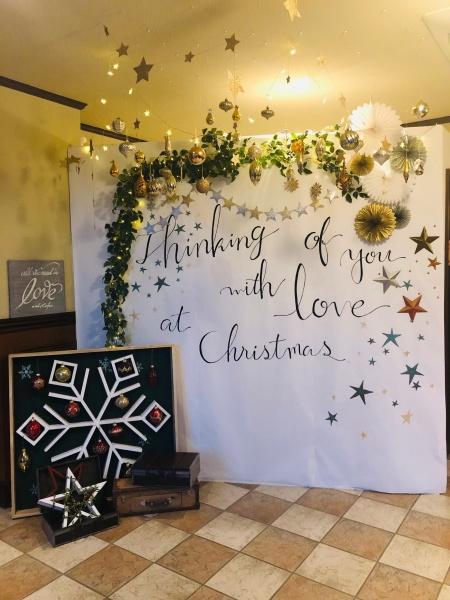 新潟県三条市 長岡市 見附市 燕市 結婚式場 クリスマスディナー コーディネート