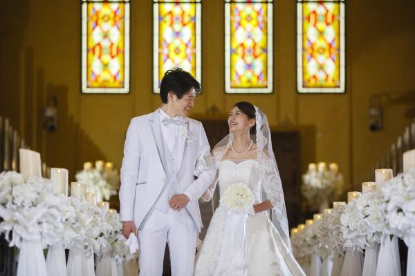 【バージンロードで綺麗に見せる3つのコツ♪】プレ花嫁さんに見てほしいチャペルでのしぐさ
