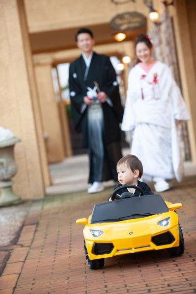 新潟県三条市 燕市 長岡市 結婚式場 前撮り こども 車
