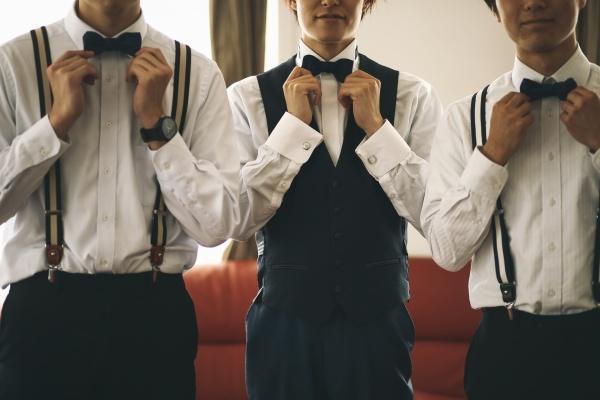 新潟県三条市 燕市 長岡市 結婚式場 新潟市 蝶ネクタイ タキシード ウェディングドレス