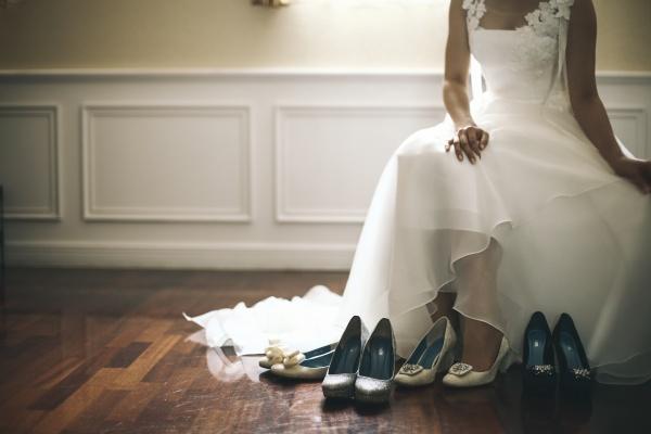 衣装選び 新潟県三条市 燕市 長岡市 結婚式 ドレス ブライダルシューズ
