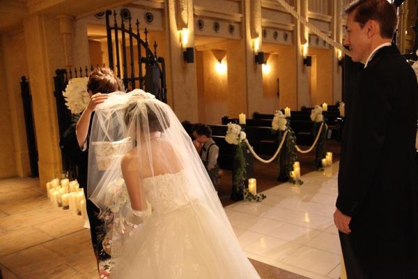 新潟県三条市 長岡市 燕市 見附市 結婚式場 チャペル ベールダウン