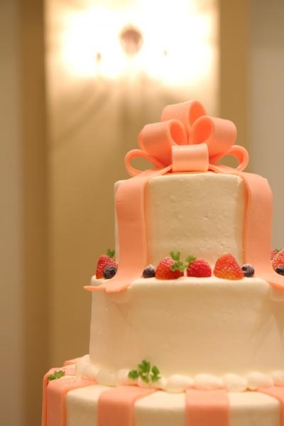 マジパン ウエディングケーキ