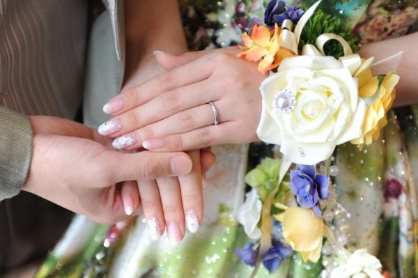 新潟県三条市 燕市 長岡市 見附市 結婚式場 ブライダルネイル