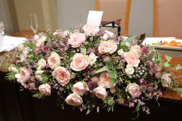 花 会場装花