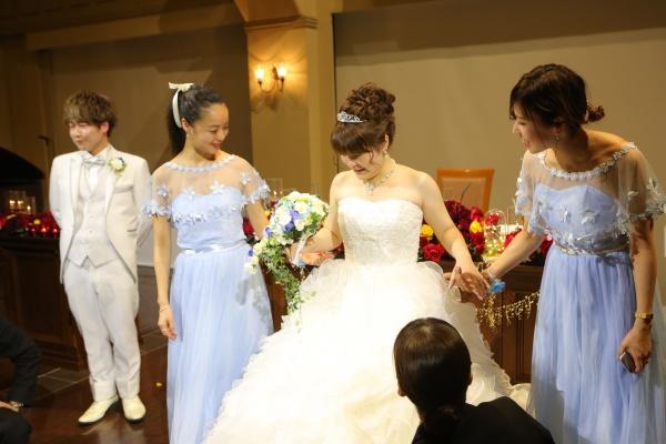 新潟市 三条市 見附市 長岡市 新潟県 結婚式場 ブライズメイド