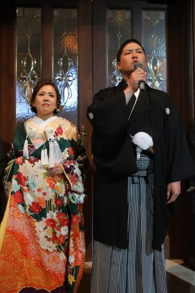 新潟市 長岡市 三条市 新潟県 結婚式場 新郎挨拶