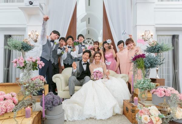 新潟県三条市 燕市 見附市 長岡市 結婚式場  家族 笑顔 サプライズ