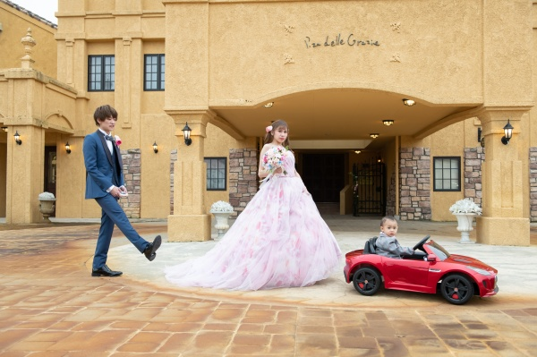 新潟県三条市 新潟市 長岡市 燕市 結婚式場 前撮り フォト 新郎新婦 こども