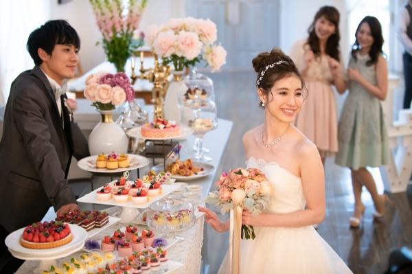 【プレ花嫁に好評のデザートビュッフェを取り入れよう!】結婚式のコース料理しめくくりのデザートでの大人気スイーツは〇〇♬
