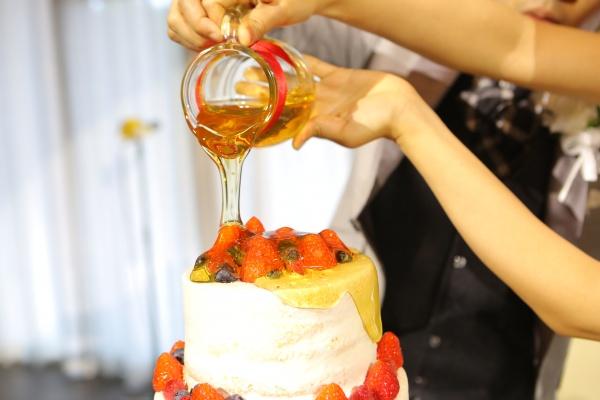 新潟県三条市 燕市 見附市 長岡市 結婚式 オリジナルウェディングケーキ