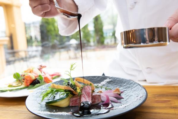 【スタッフ全員が美味しい!と絶賛したのは・・】ブライダルフェアでコース料理を試食しておもてなしも安心♪