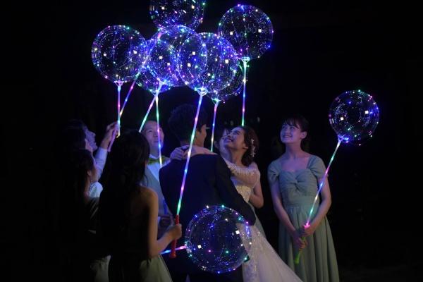 新潟県三条市 燕市 見附市 長岡市 結婚式場 スターマイン 花火