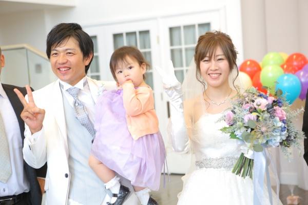 新潟県三条市 結婚式 新潟市 長岡市 子供演出 子供 パパママ婚