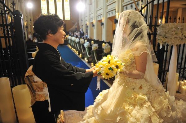 新潟県三条市 結婚式 新潟市 長岡市 三条市 フォト チャペル式 ベールダウン セレモニー