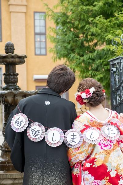 新潟県三条市 長岡市 新潟市 結婚式場 前撮影 打掛 ガーランド 撮影小物