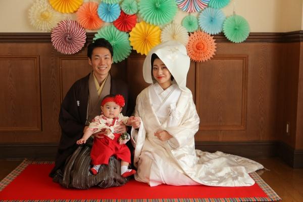 新潟県三条市 長岡市 新潟市 結婚式場 前撮影 パパママキッズ婚